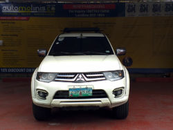 2009 Mitsubishi Montero Sport - Front View