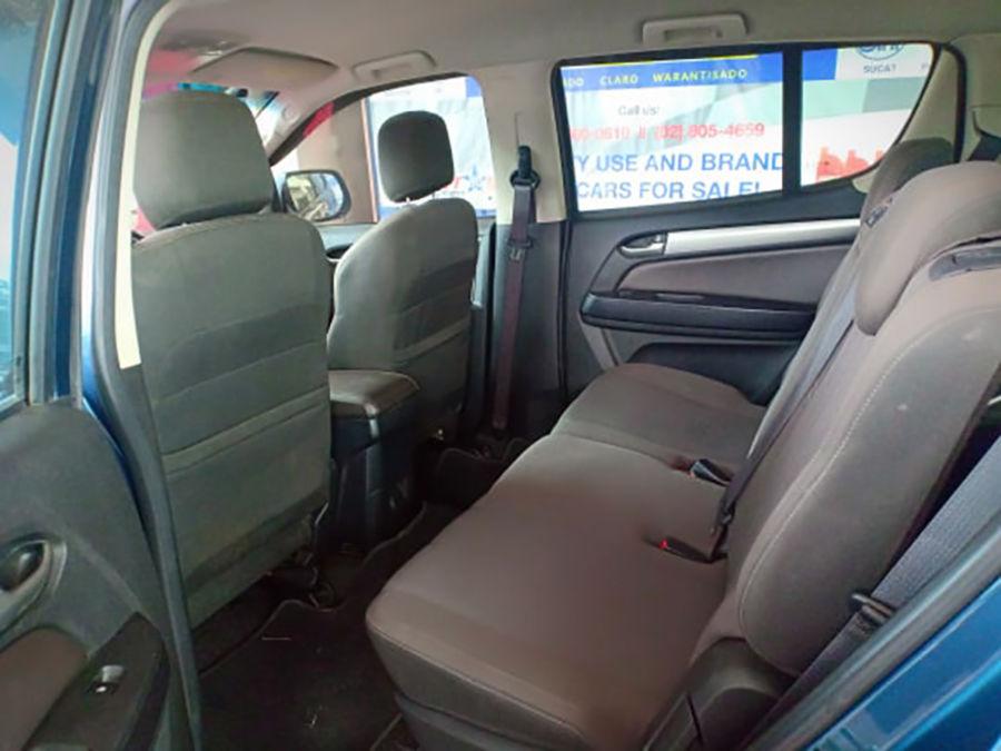 2017 Chevrolet Trailblazer - Interior Rear View