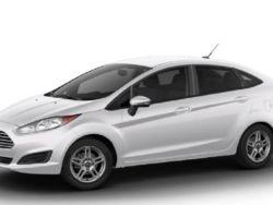 2019 Ford Fiesta - Interior Rear View
