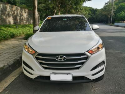 2018 Hyundai Tucson - Front View