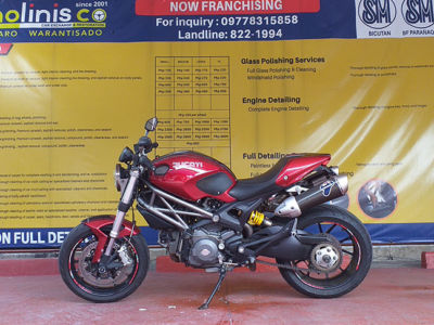 2014 Ducati Monster 795 - Front View