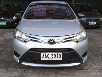 2014 Toyota vios 1.3 J - Front View