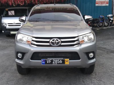 2016 Toyota hilux g - Front View