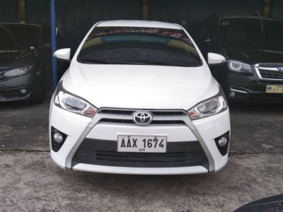 2014 Toyota Yaris - Front View