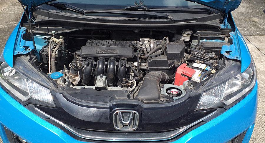 2017 Honda Jazz - Interior Rear View