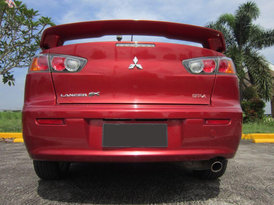 2014 Mitsubishi Lancer Ex - Rear View