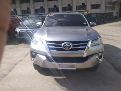 2016 Toyota fortuner G - Front View