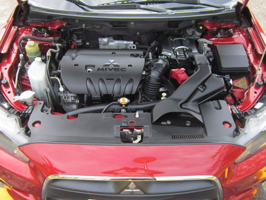 2014 Mitsubishi Lancer Ex - Interior Rear View