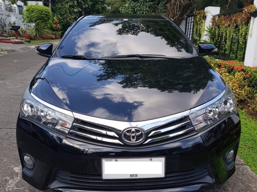 2015 Toyota Corolla Altis G - Front View