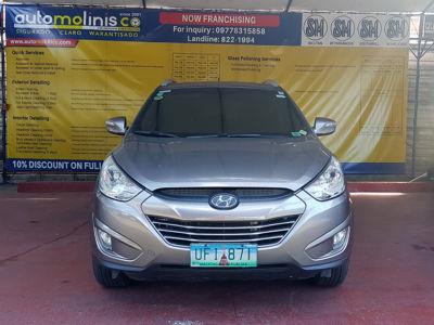 2012 Hyundai Tucson CRDi - Front View
