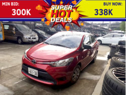 2016 Toyota Vios 1.3 J - Interior Rear View