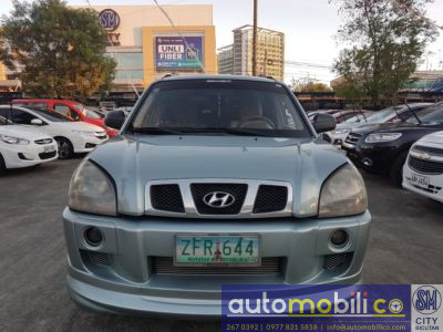 2006 Hyundai Tucson - Front View