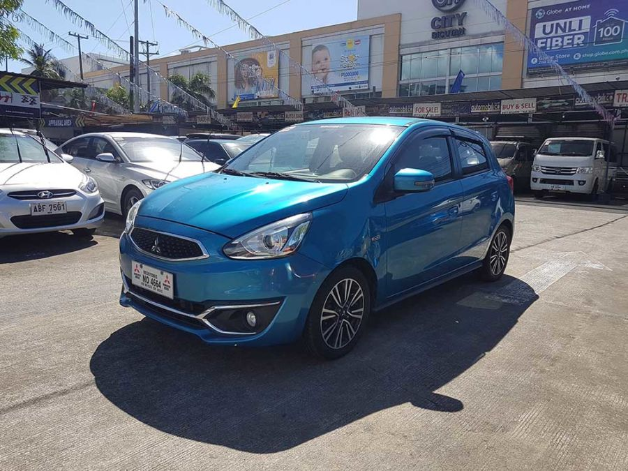 2016 Mitsubishi Mirage - Right View