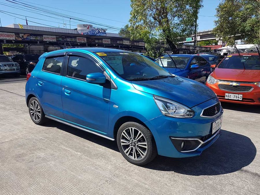 2016 Mitsubishi Mirage - Left View