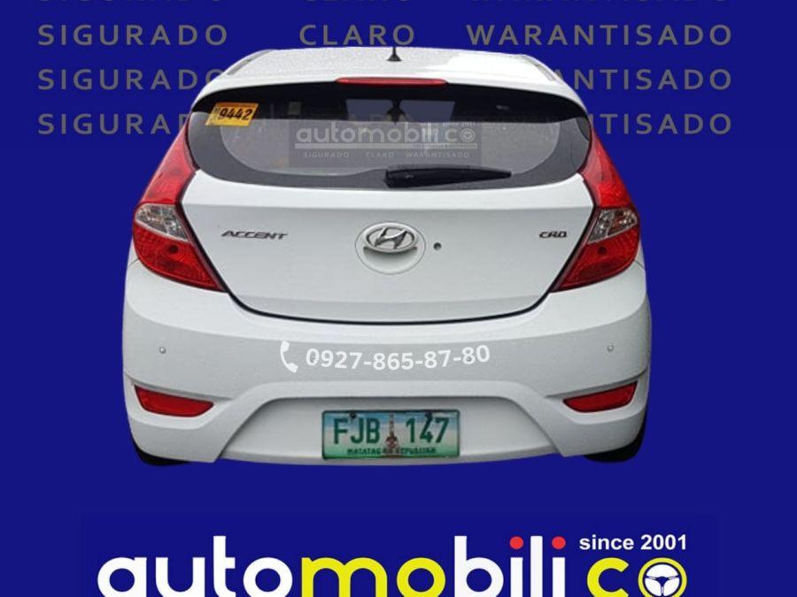 2013 Hyundai Accent - Rear View
