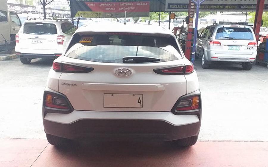 2019 Hyundai Kona - Rear View