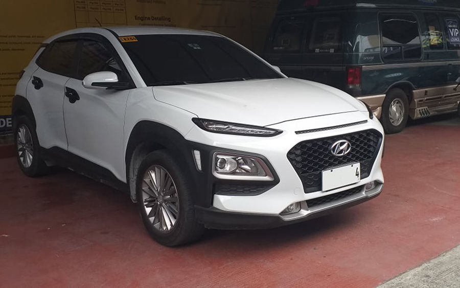 2019 Hyundai Kona - Left View