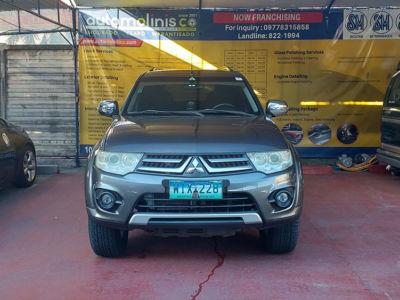 2014 Mitsubishi Montero Sport GLS - Front View