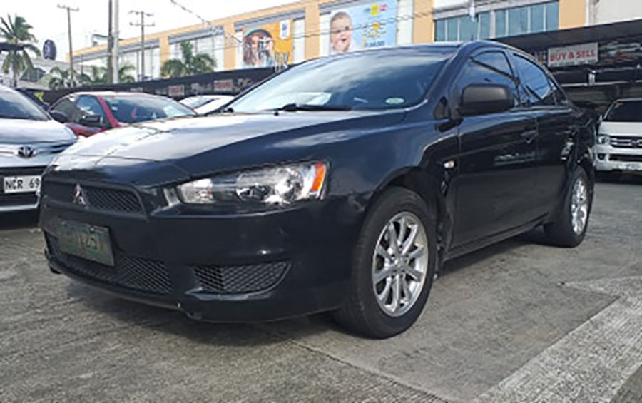 2010 Mitsubishi Lancer Ex - Right View