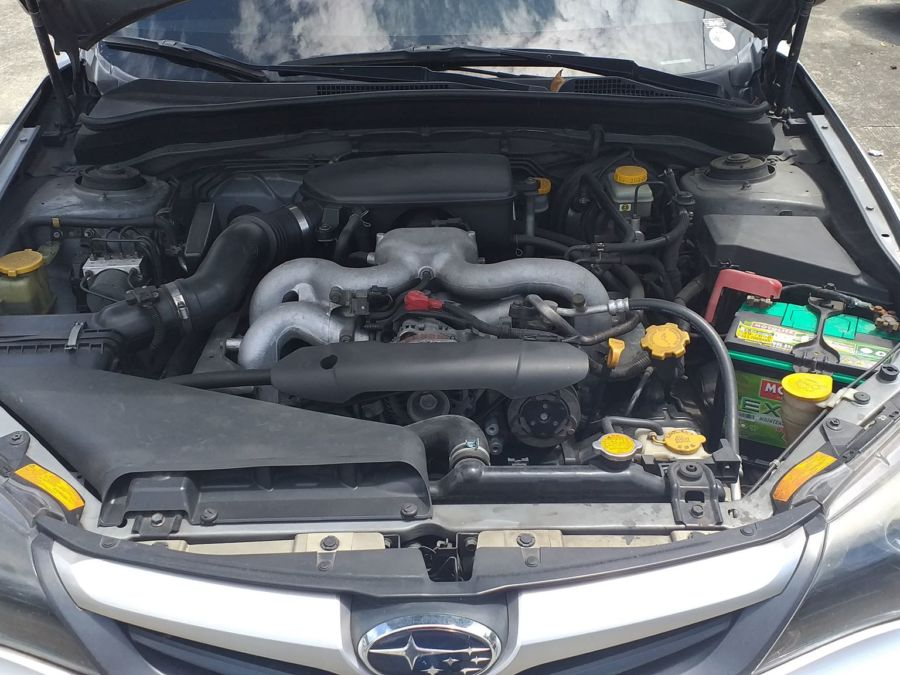 2011 Subaru Impreza - Interior Rear View