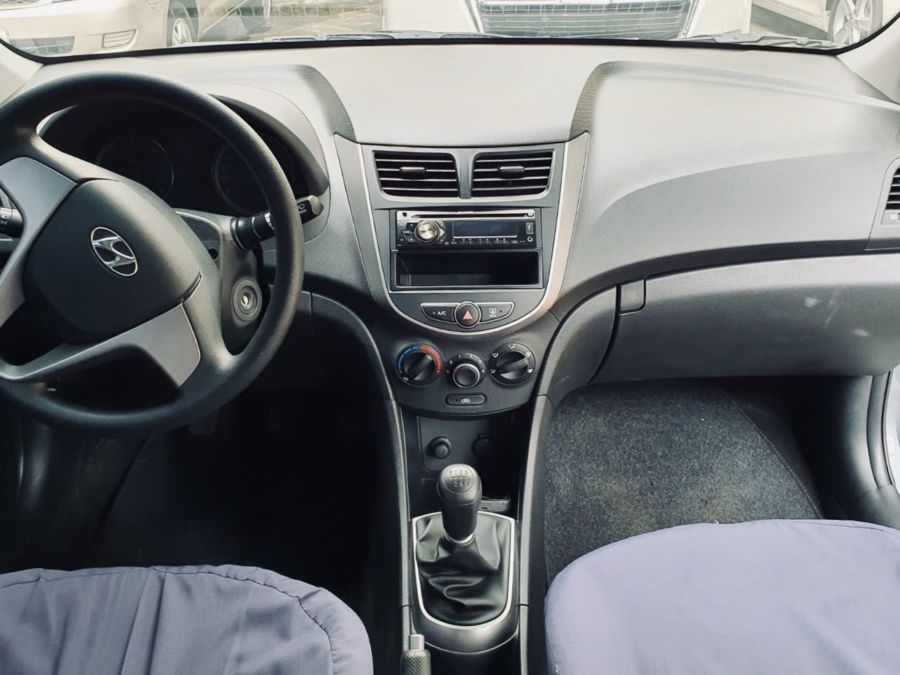 2018 Hyundai Accent GL - Interior Front View