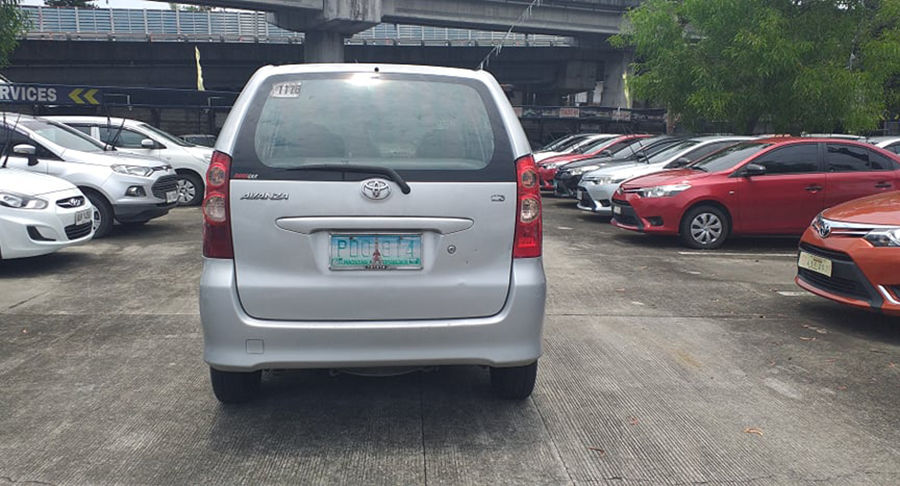2010 Toyota Avanza - Rear View