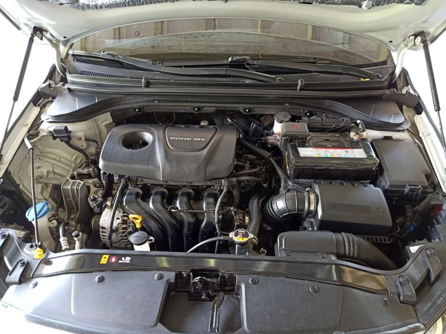 2020 Hyundai Elantra - Interior Rear View
