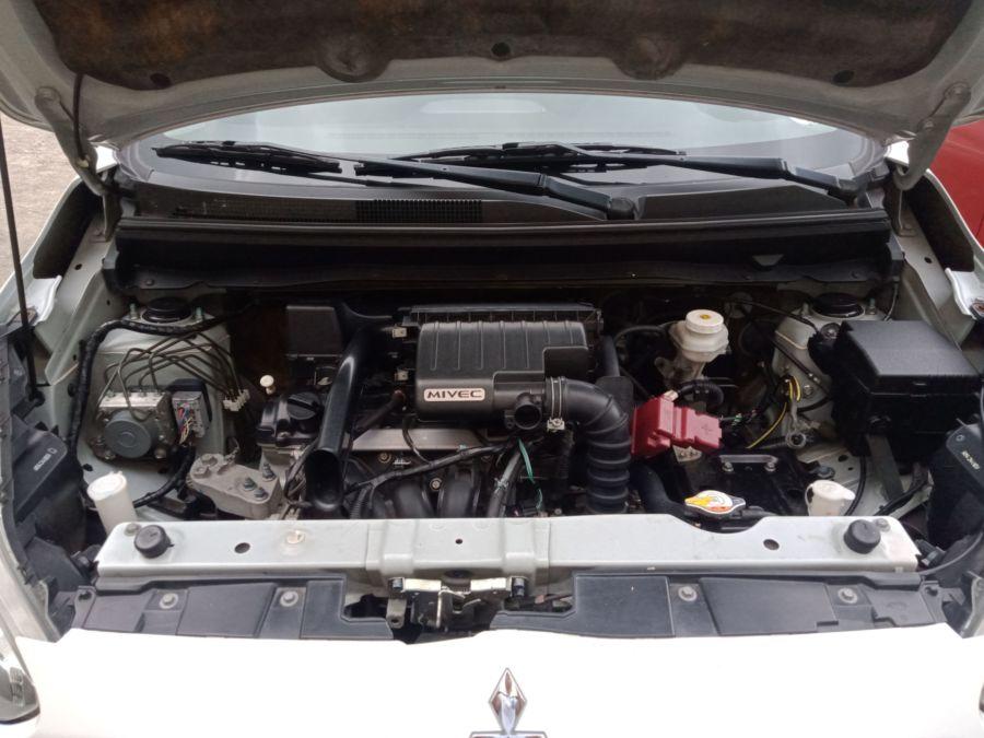 2015 Mitsubishi Mirage - Interior Rear View