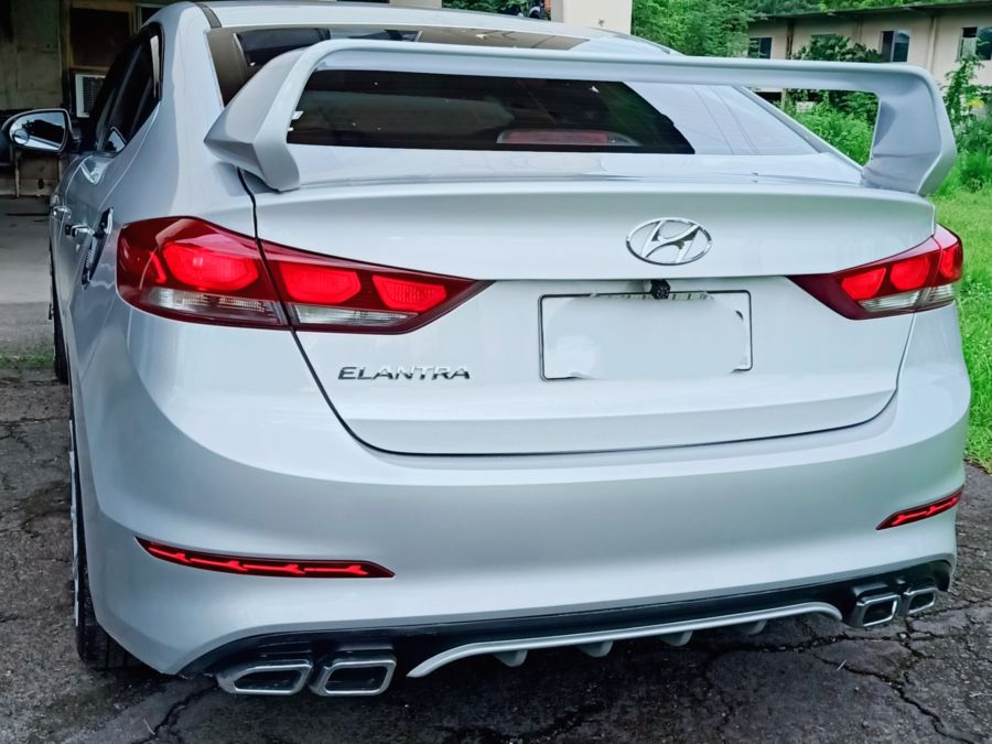 2020 Hyundai Elantra - Rear View