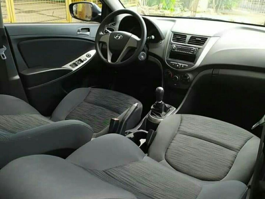 2018 Hyundai Accent - Interior Front View