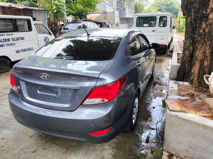 2018 Hyundai Accent - Rear View