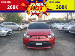 2016 Toyota Vios 1.3 J - Front View