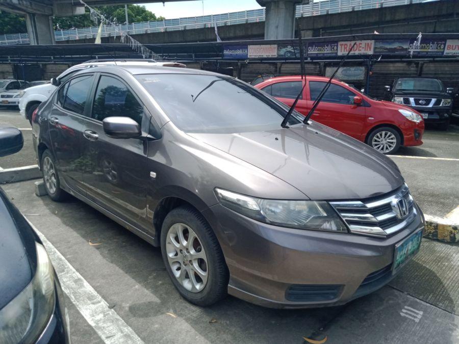 2013 Honda City S - Rear View