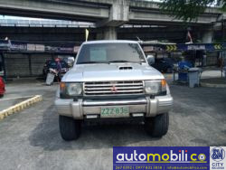1994 Mitsubishi Montero - Front View