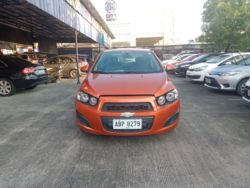 2015 Chevrolet Sonic - Front View