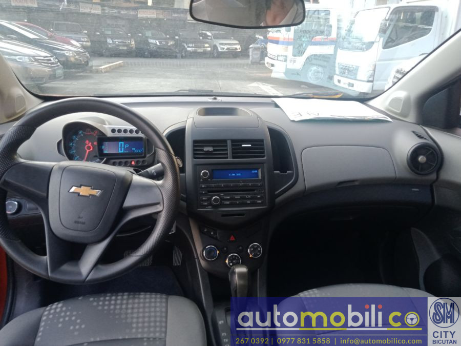 2015 Chevrolet Sonic - Interior Front View