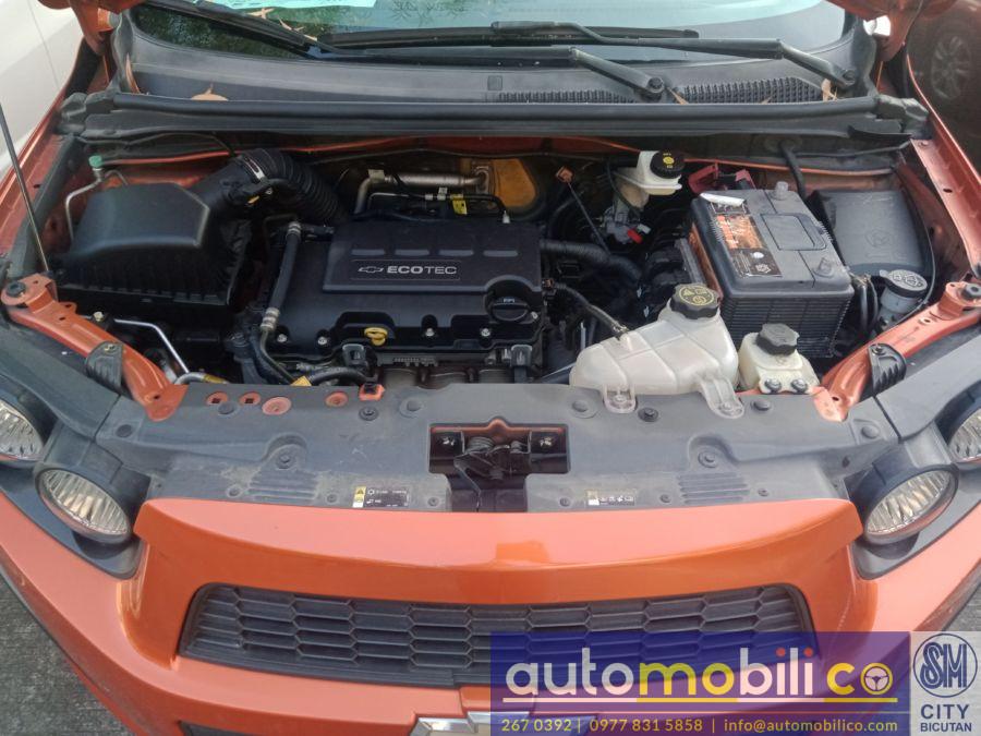 2015 Chevrolet Sonic - Interior Rear View