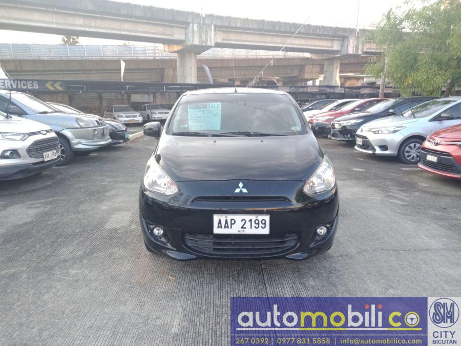2015 Mitsubishi MIRAGE GLS - Front View