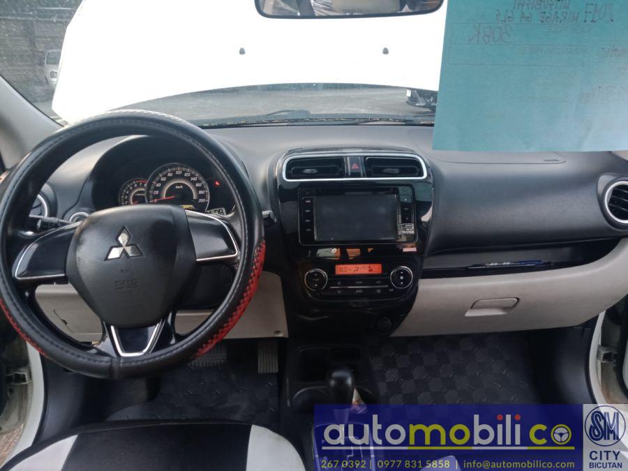 2017 Mitsubishi Mirage G4 GLS - Interior Front View