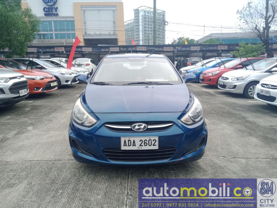 2015 Hyundai Accent - Front View