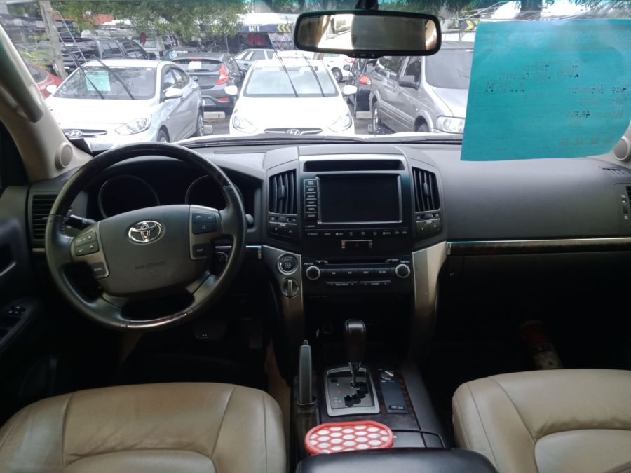 2008 Toyota Land Cruiser - Interior Front View