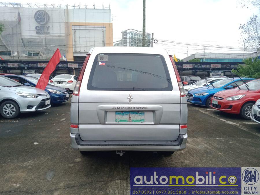 2005 Mitsubishi Adventure GLX - Rear View