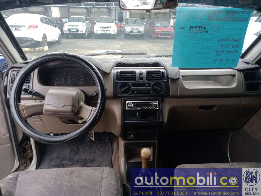 2005 Mitsubishi Adventure GLX - Interior Front View