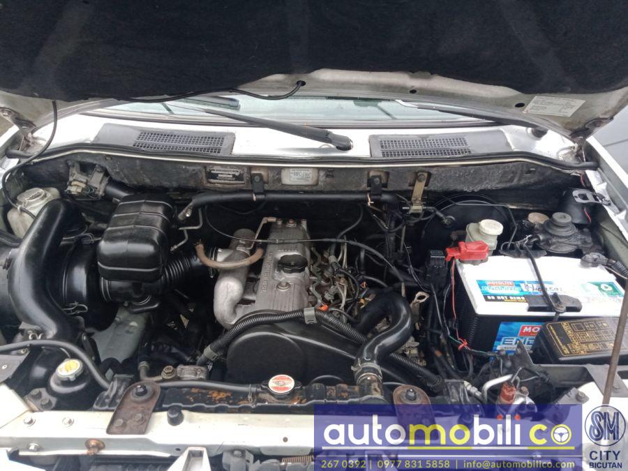 2005 Mitsubishi Adventure GLX - Interior Rear View