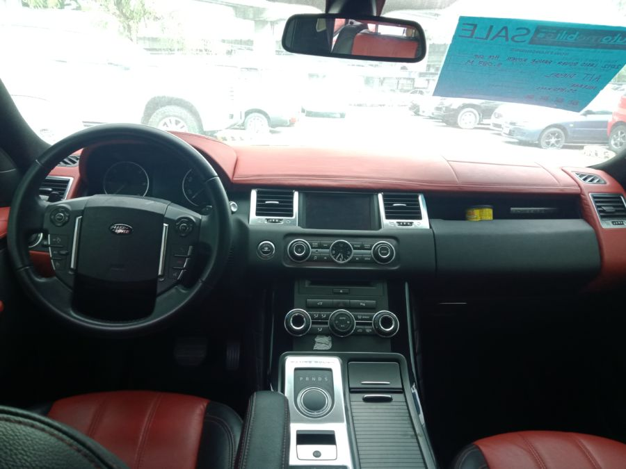 2012 Land Rover Range Rover - Interior Front View