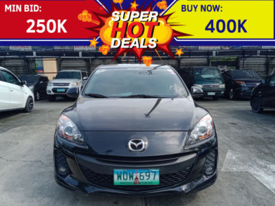2014 Mazda 3 - Front View