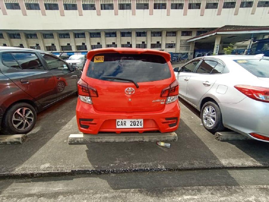 2019 Toyota wigo G - Rear View