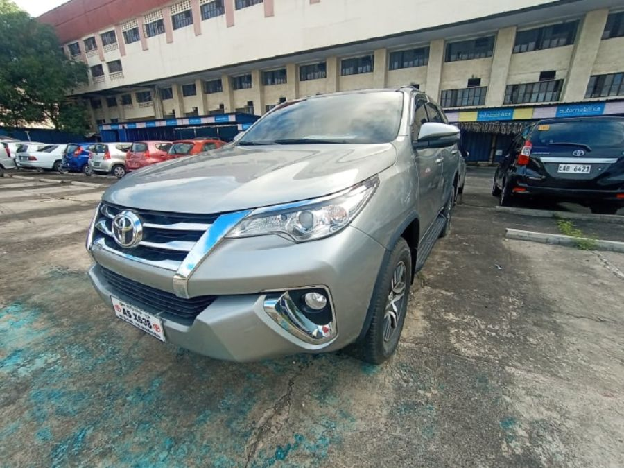2018 Toyota fortuner G - Rear View