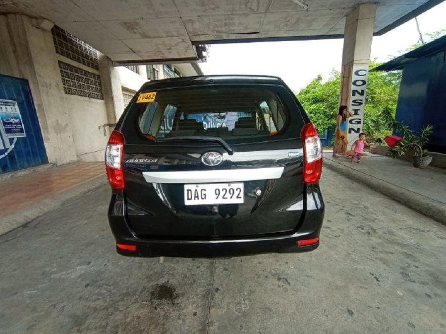 2018 Toyota Avanza E - Rear View
