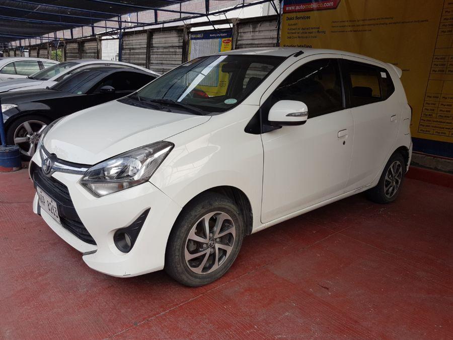 2018 Toyota wigo G - Left View